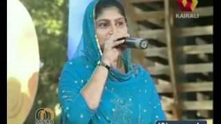 Patturumal Rehana sings 'Iru lokam jayamani '