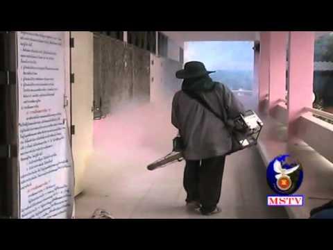 22มค59เทศบาลแม่สอดพ่นหมอกควันกำจัดยุงลาย