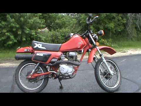 1984 Honda Xl 80 S 999 At Road Track Amp Trail Youtube