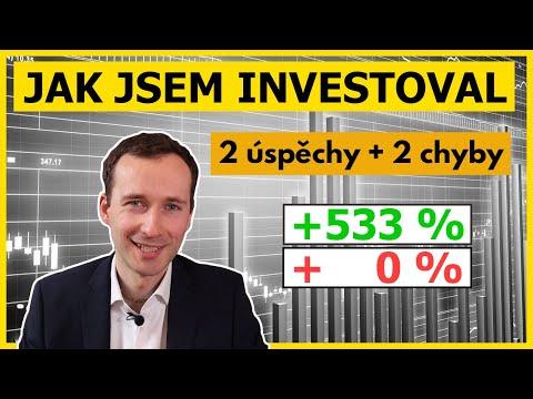 Jak jsem investoval za poslední rok (2 úspěchy + 2 chyby)