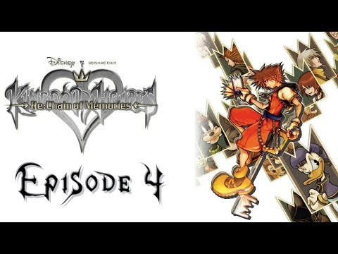 """Kingdom Hearts Re: Chain of Memories Walkthrough Part 4 """"Guilty as Charged!"""" [Proud Mode!]"""