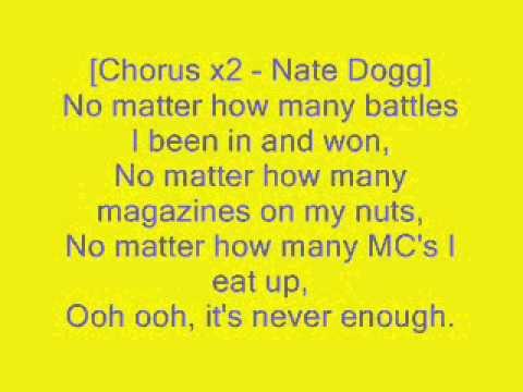 Never Enough - Eminem lyrics