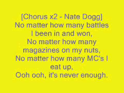 Never Enough - Eminem lyrics