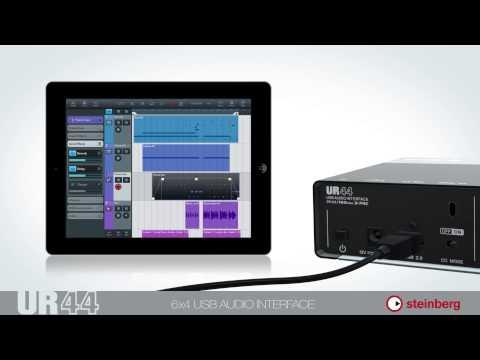 Steinberg UR44 - USB audio interface