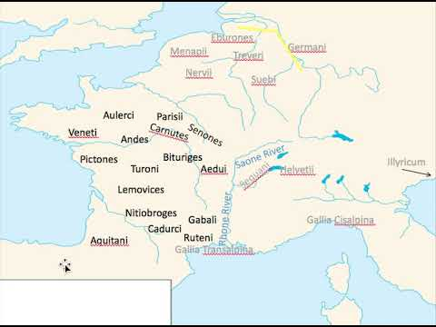 Caesars Consulship and the Gallic War Part 3 vid