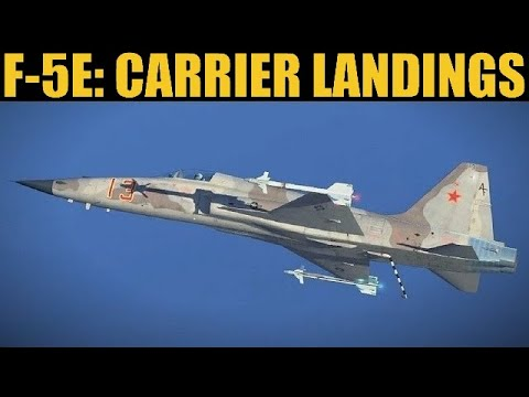 F-5 Tiger II: Naval Carrier Takeoff & Landing Guide | DCS WORLD