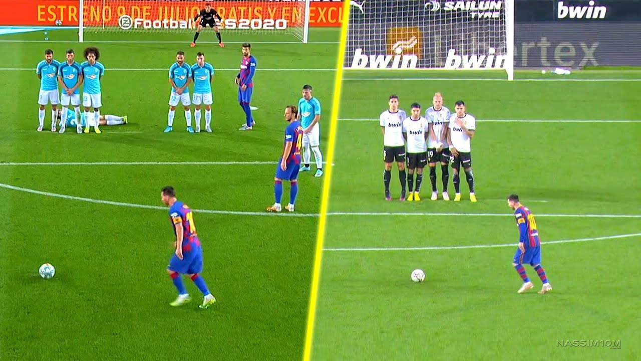 Lionel Messi Free kick You've Ever Seen