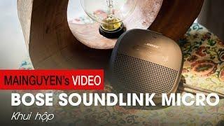 Khui hộp Bose SoundLink Micro: Nhỏ gọn mà mạnh mẽ - www.mainguyen.vn