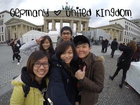 Travel Vlog 01 | Christmas in Germany and United Kingdom 圣诞礼物在哪里 在德国英国里
