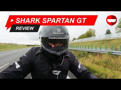 Shark Spartan GT Review en Rij Test- ChampionHelmets.com