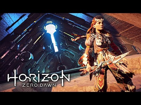 Horizon Zero Dawn - DUNGEONS!! (HORIZON ZERO DAWN Gameplay Walkthrough Part 4)