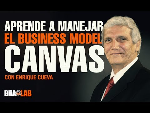 Aprende a manejar la herramienta Business Model Canvas con Enrique Cueva