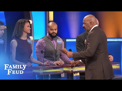 Boss, I'll kiss your ass, but I AIN'T kissing... | Family Feud