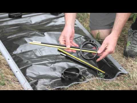 Therm-a-Rest® UltraLite Cot Setup Instructions
