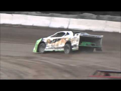 Tyler Sistrunk Motorsports - North Florida Speedway - 4-23-2016 - Heat Race Grandstands WIN