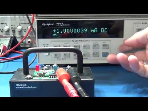 A quick calibration exercise: UNI-T UT81B and DMMCheck