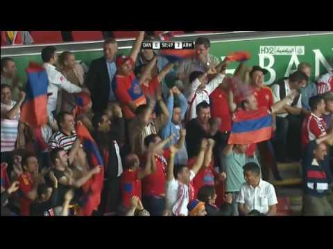 Denmark Vs Armenia 0 4! All Goals HD June 11th, 2013) Дания Армения
