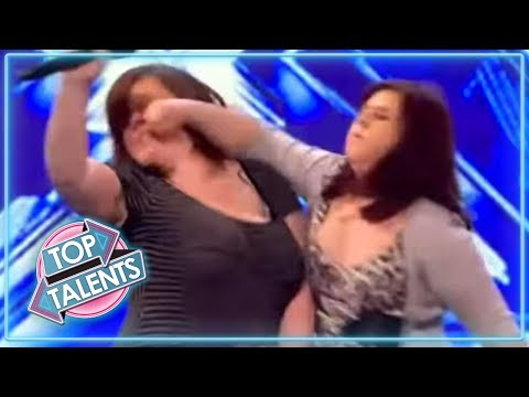 SHOCKING Angry Auditions From X Factor, Got Talent & Idols   Top Talents