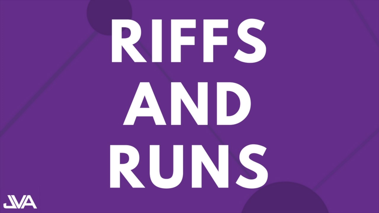 Download RIFFS AND RUNS #3 (NORMAL) - VOCAL EXERCISE
