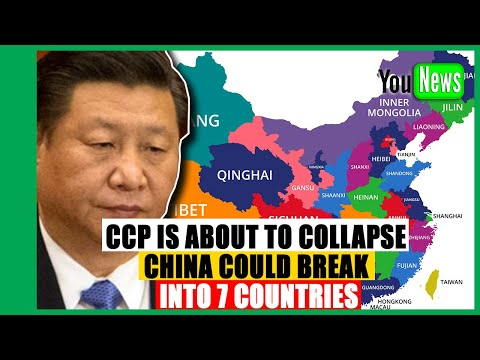 CCP Is About To Collapse And China Could Break Into 7 Countries.