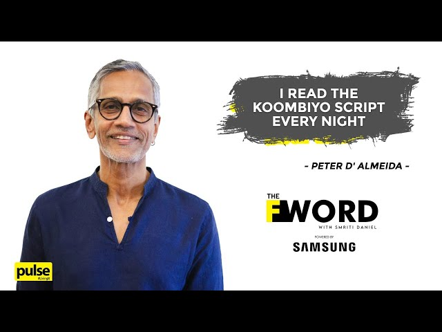 The F Word with Smriti Daniel | Peter D'Almeida