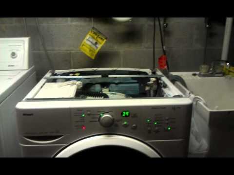 Kenmore Washer Repair >> Kenmore HE2 Plus overfill pressure switch repair - YouTube