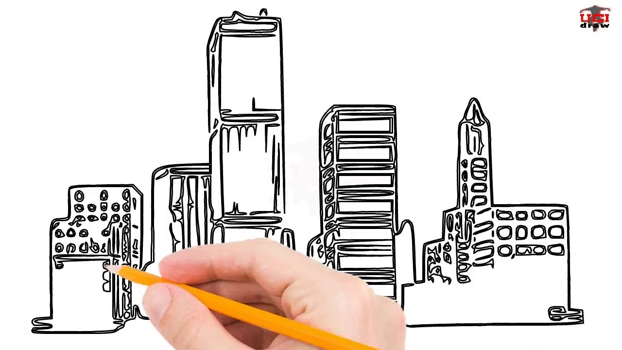 how to draw buildings step by step easy for beginners kids simple building drawing tutorial youtube how to draw buildings step by step easy for beginners kids simple building drawing tutorial