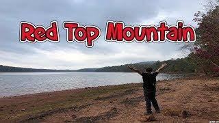 Red Top Mountain Caŗtersville Georgia Hiking Iron Hill Trail