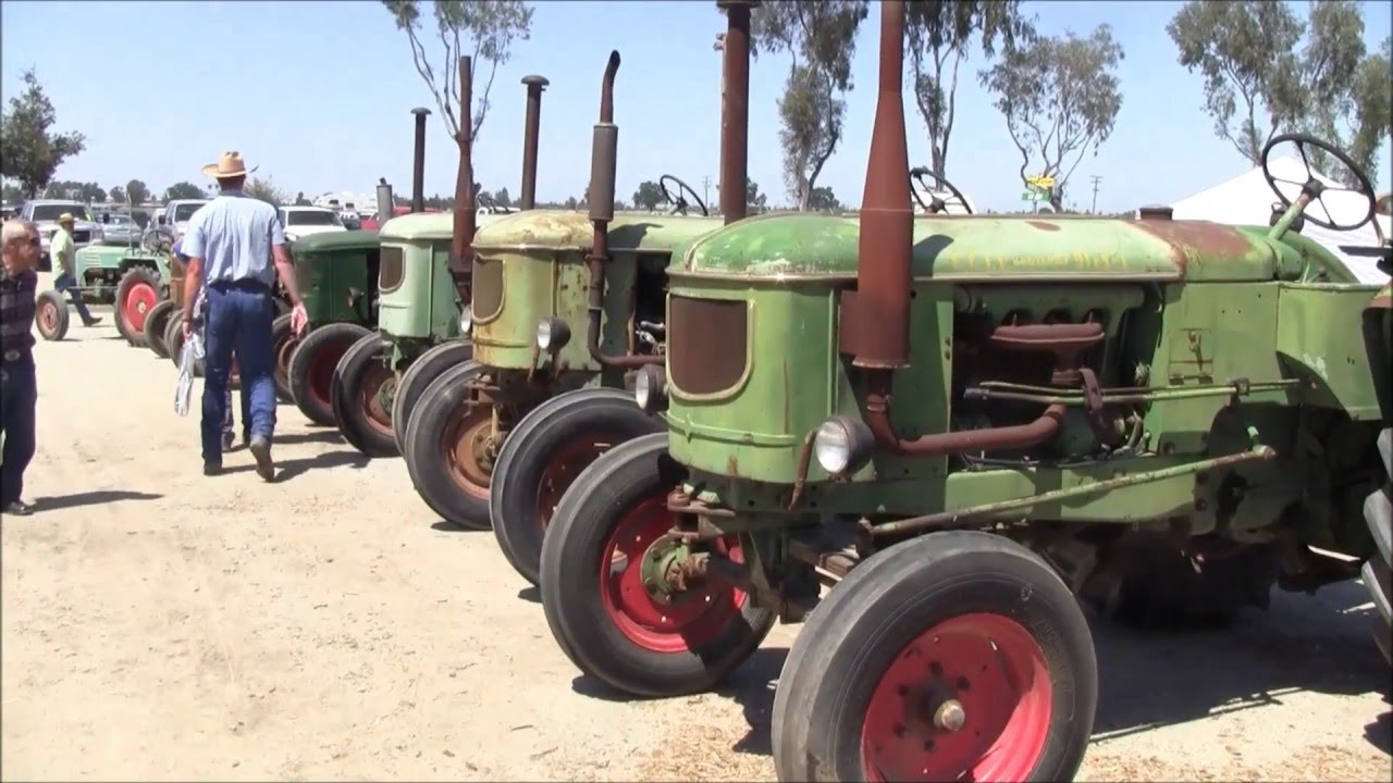 California Antique Farm Equipment Show 2016 Part 1 Youtube