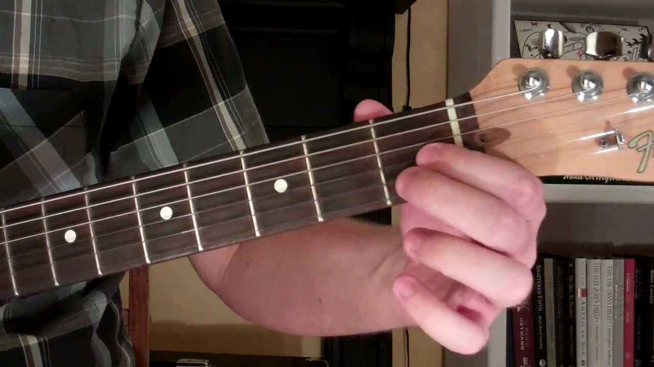 How To Play The D9 5 Chord On Guitar D 9th Diminished 5th Youtube