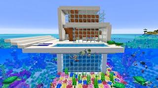 キレイすぎる海上ハウスを本気で作ろうとした結果!?【まいくら・マインクラフト】