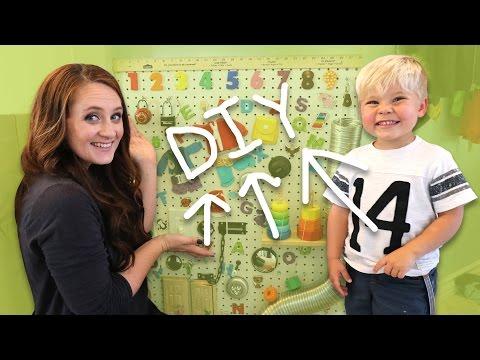 DIY SENSORY BOARD FOR KIDS!