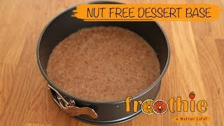 Nut Free Dessert Base on Getting into Raw cooking with Zane