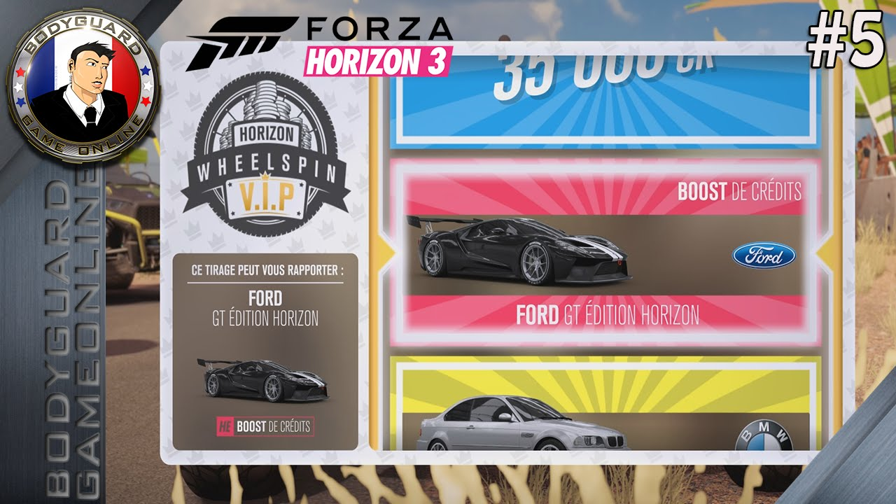 forza horizon 3 let's play intégral #5 pc ultra 1080p60 objectif