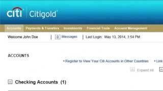 Citi How Make Online Bill Payment