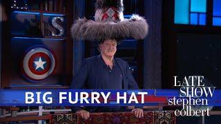 The Big Furry Hat Meets Its Big Furry Match