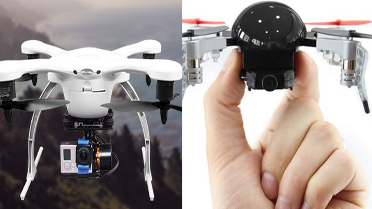 5 Best Drones, You'll Intend to Buy- Ghost drone, Micro Drone, Nano Drone, Phone Drone, Wallet