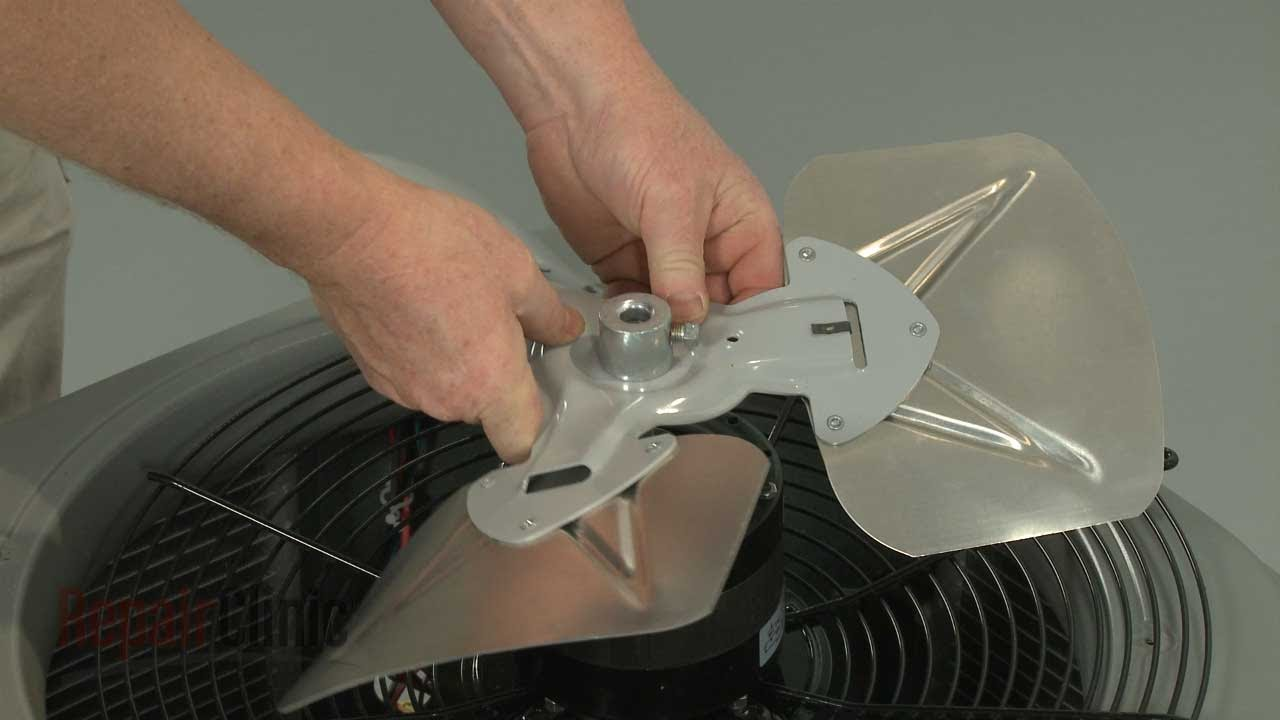 Replacement Aluminum Fan Blades 13 : York central air conditioner is noisy s