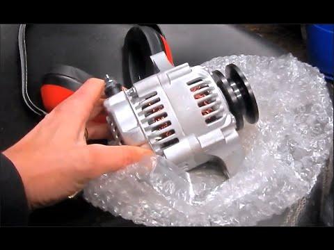Off-road Mower Alternator Install