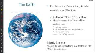 ASTR 111 Lecture 02 Size of Things August 23, 2016