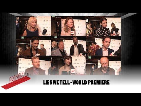 Lies We Tell - World Premiere Interviews Emily Atack, Toyah Willcox, Jan Uddin, Sibylla Deen