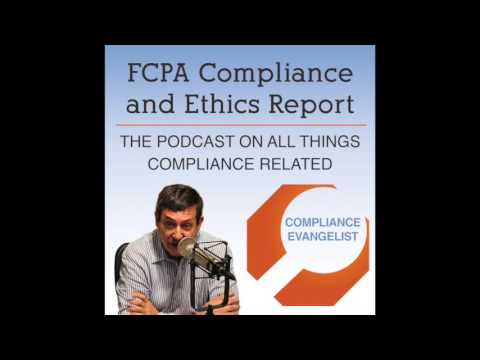 The FCPA Compliance And Ethics Report-Episode 260--Training