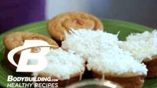 Healthy Recipes: Frosted Coconut Protein Cupcakes