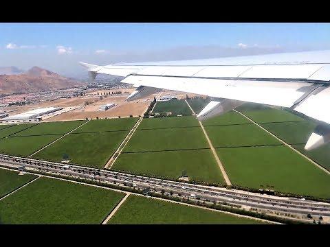 LATAM Chile Express Airbus A320-233 [CC-BAI]   Turbulent takeoff from Santiago