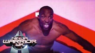 Sebastien Foucan puts on a show   Ninja Warrior UK