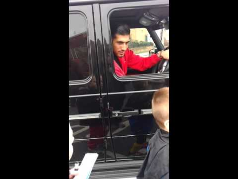Liverpool fan Liam meeting emre can at melwood LFC