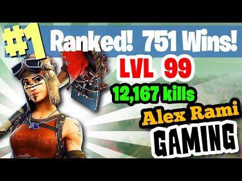 #1 World Ranked - 751 Wins - 12,167 Kills - Level 99 - Sponsor Goal 348/350