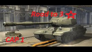 WOT ST-1 Road to 3 ★ cap  1 thumbnail
