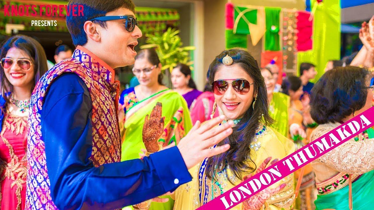 best lip dub wedding video song london thumakda by knots