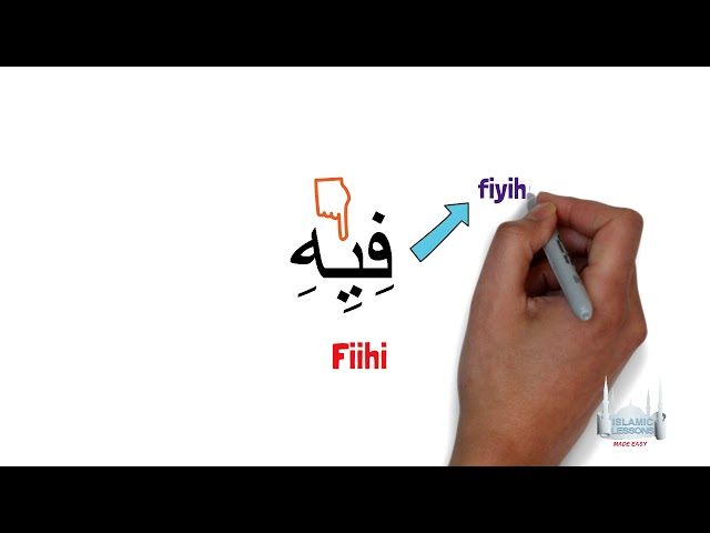 Reading Arabic - Words with long vowels - Lesson 8
